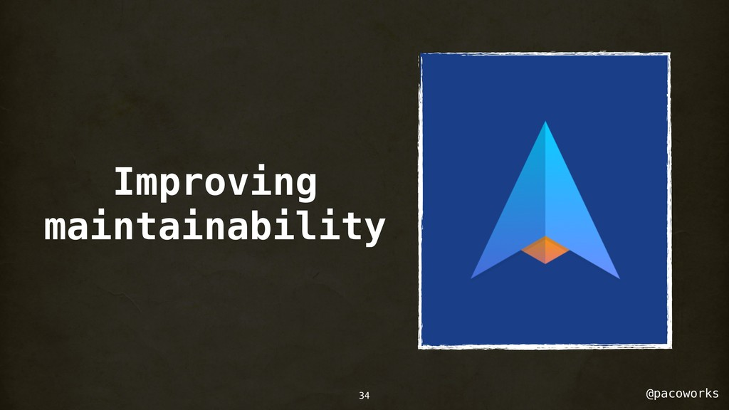 @pacoworks Improving maintainability 34