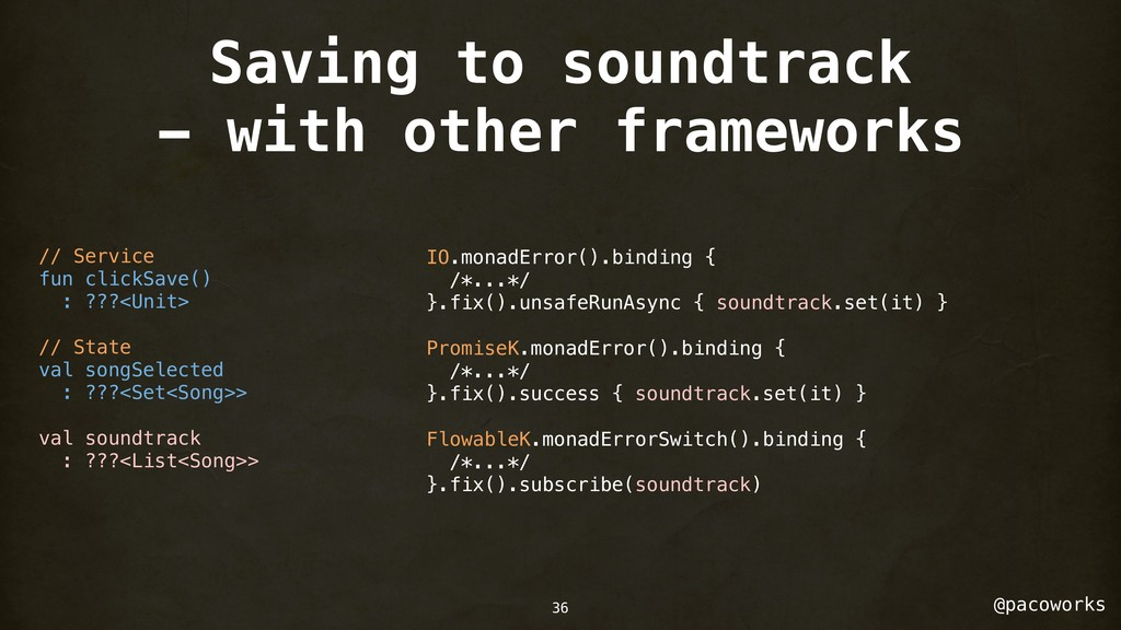 @pacoworks Saving to soundtrack - with other fr...