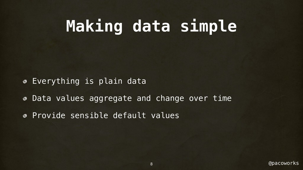 @pacoworks Making data simple Everything is pla...