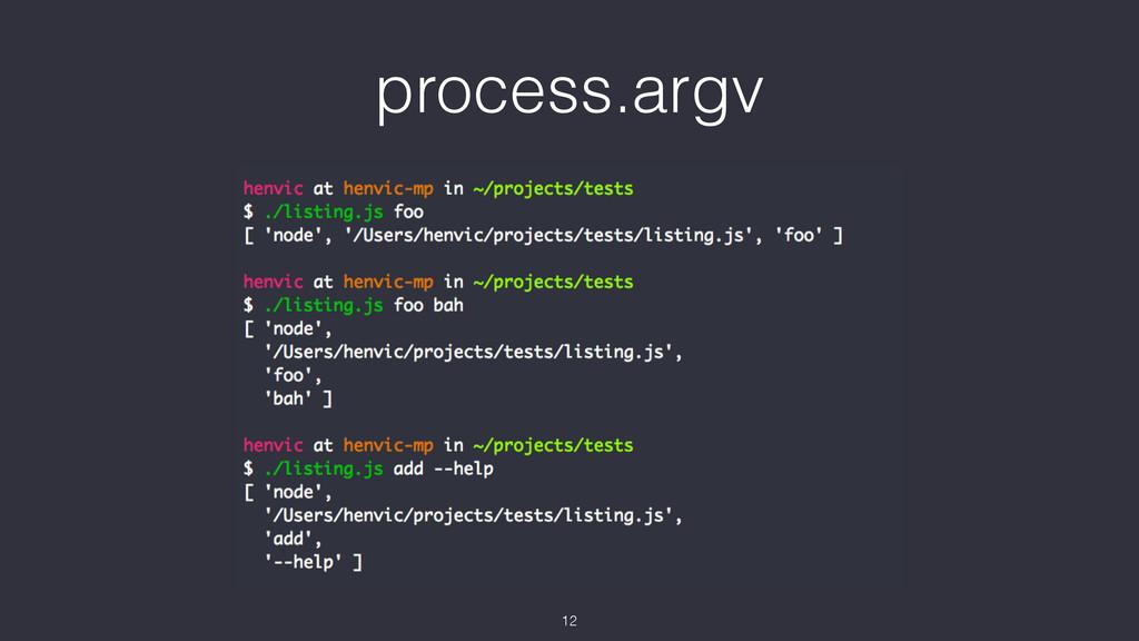process.argv 12