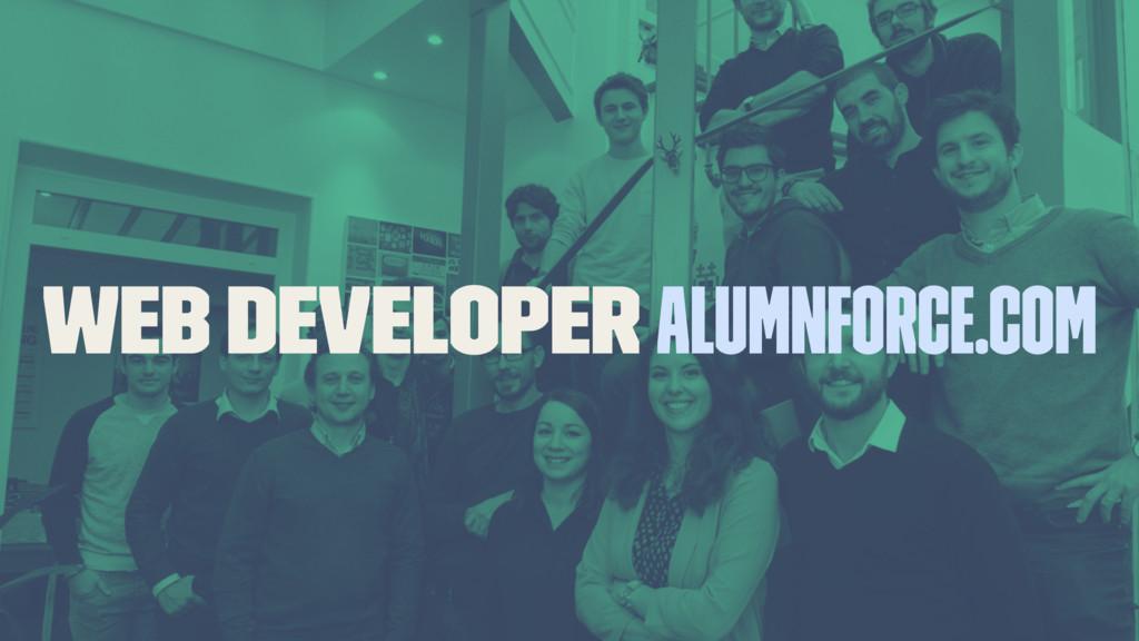 Web Developer alumnforce.com