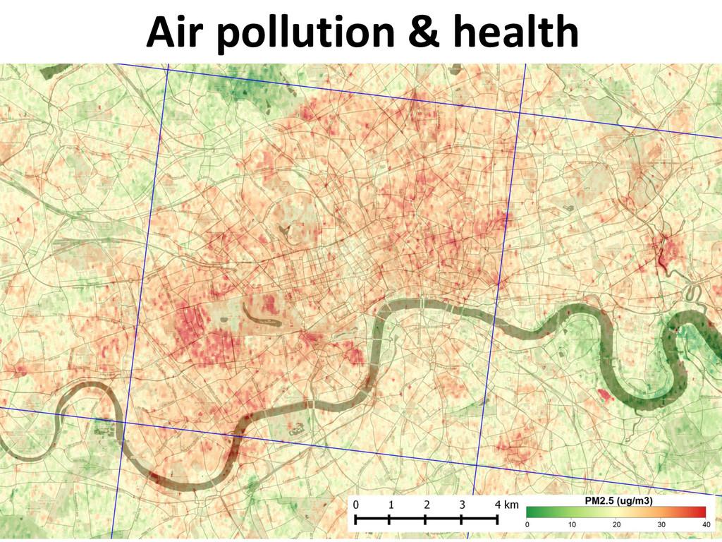 Air pollution & health