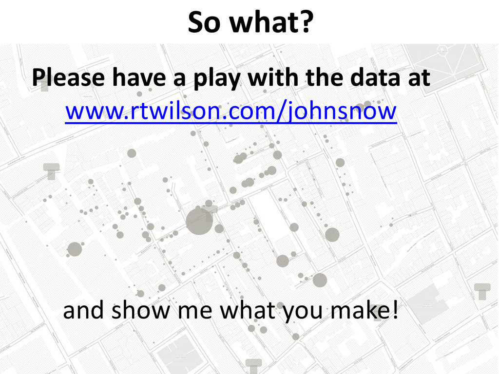 Please have a play with the data at www.rtwilso...