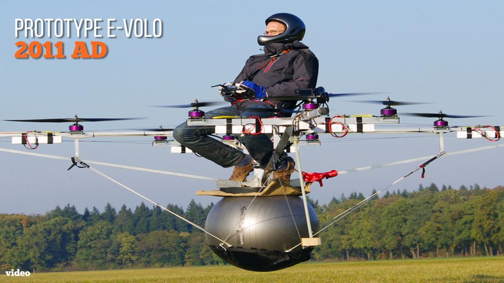 2011 AD prototype e-volo video