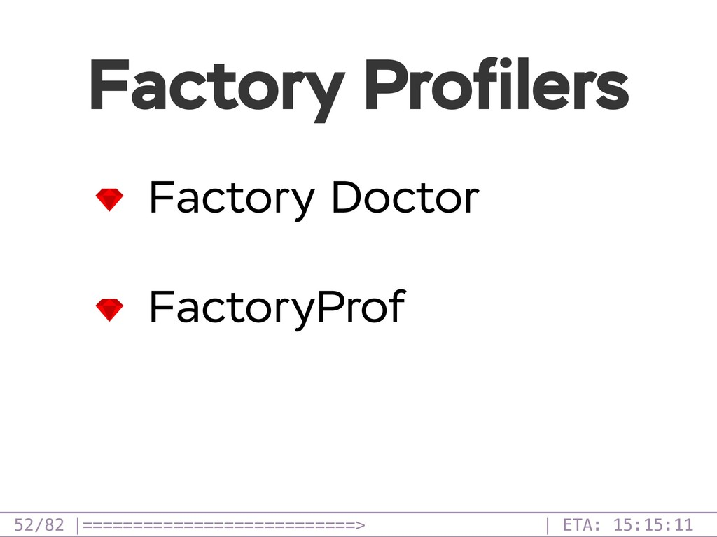 /82 Factory Profilers 52 Factory Doctor FactoryP...
