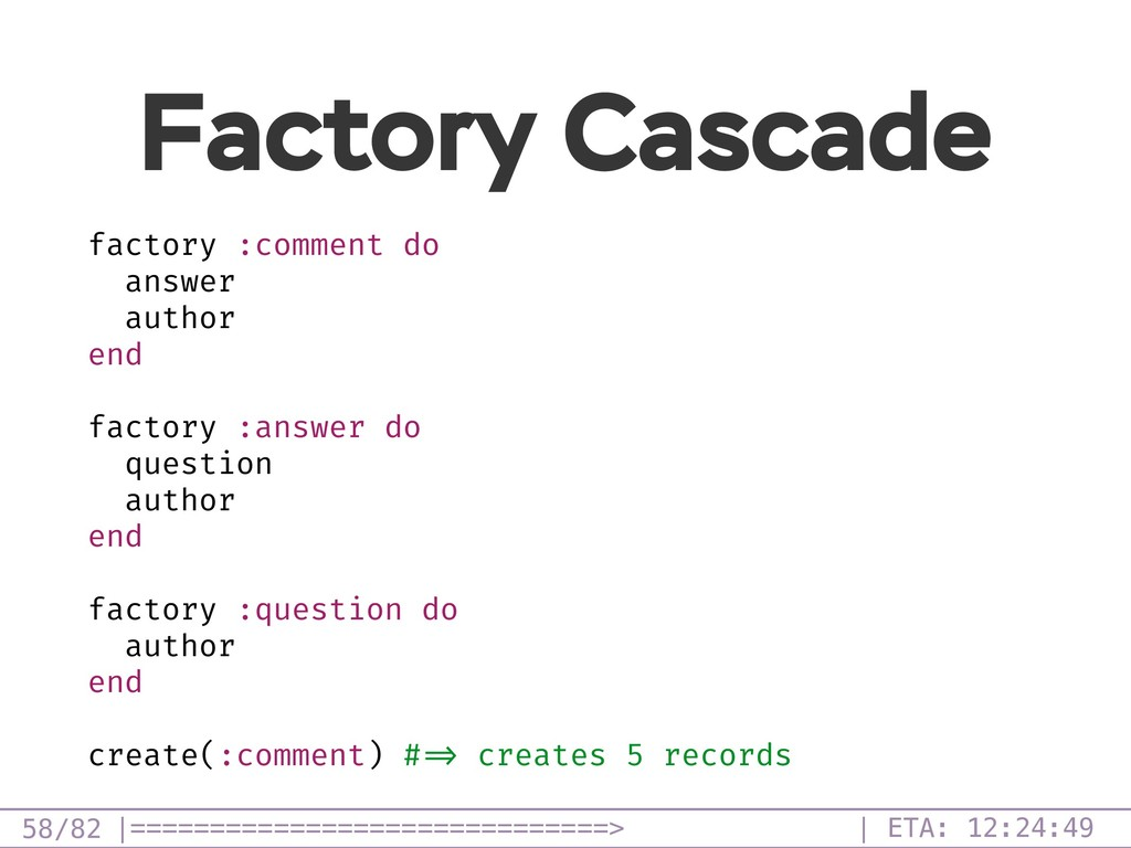 /82 Factory Cascade 58 factory :comment do answ...