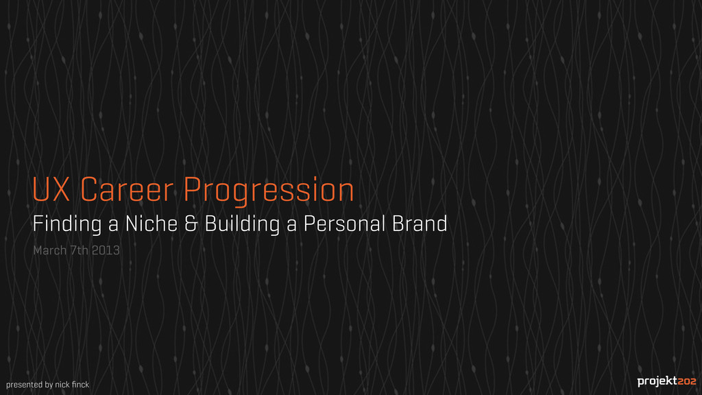 Finding a Niche & Building a Personal Brand Mar...