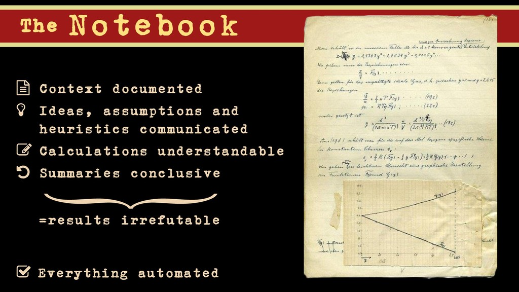 The Notebook Everything automated } =results ir...