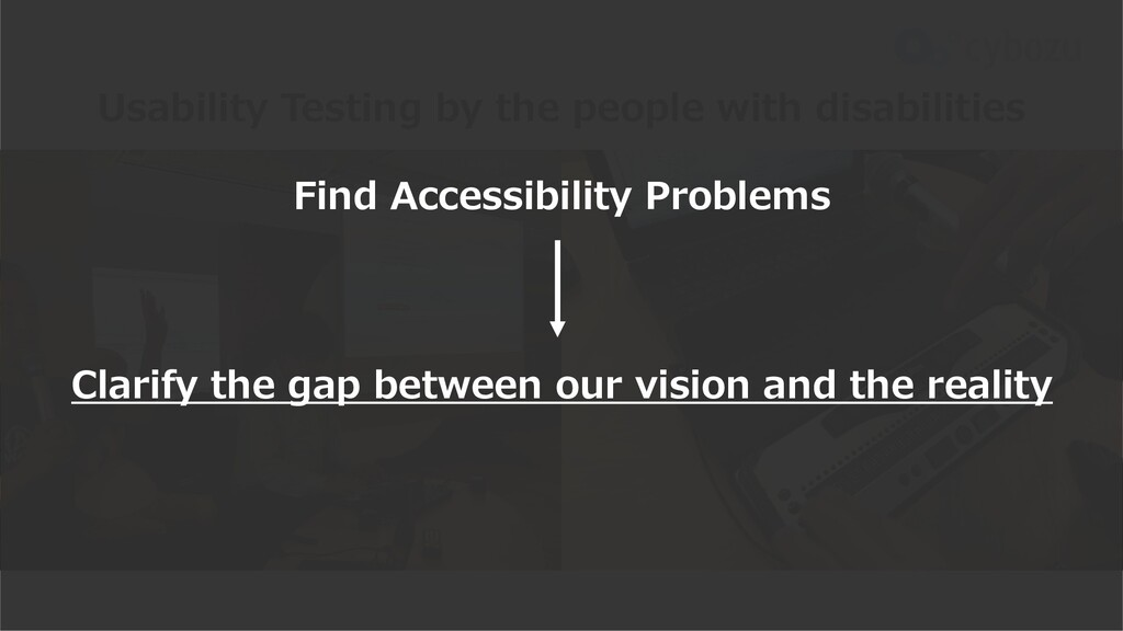 Usability Testing by the people with disabiliti...