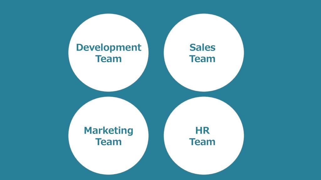 HR Development Team Marketing Team HR Team Sale...