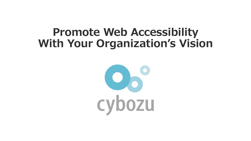 Promote Web Accessibility With Your Organizatio...