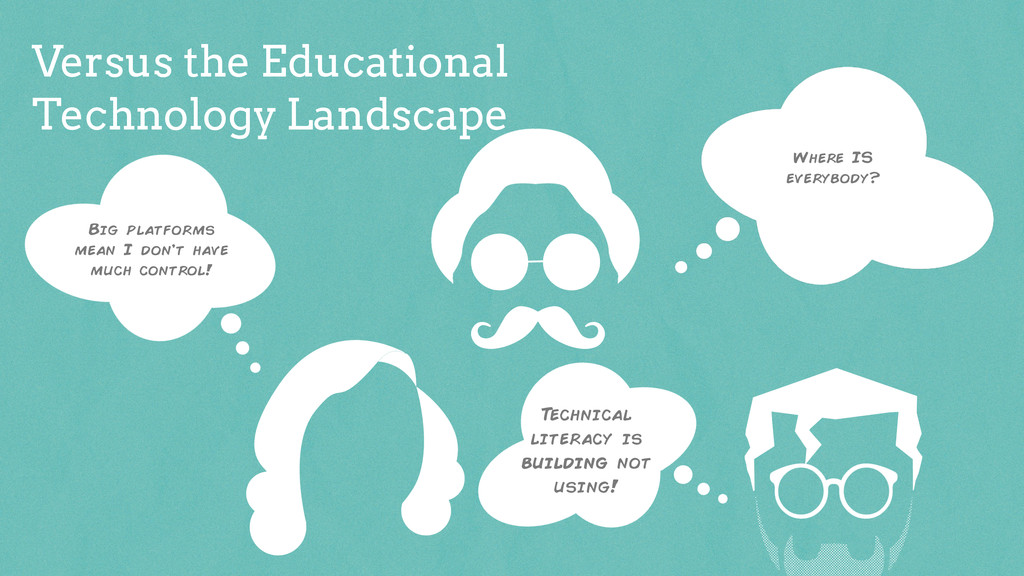 Versus the Educational Technology Landscape Big...