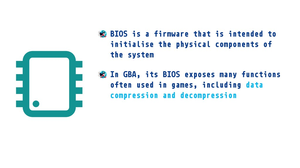 BIOS is a firmware that is intended to initiali...