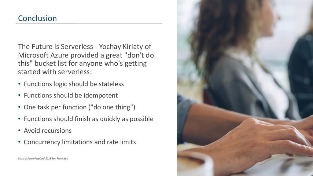 The Future is Serverless - Yochay Kiriaty of Mi...