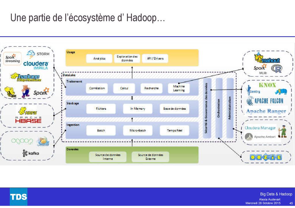 45 Big Data & Hadoop Alexia Audevart Mercredi 2...