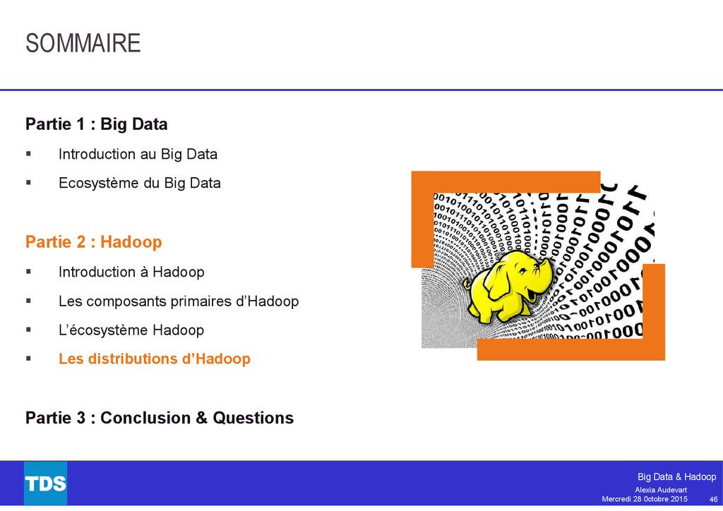 46 Big Data & Hadoop Alexia Audevart Mercredi 2...