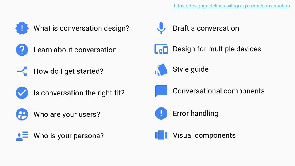 What is conversation design? Learn about conver...