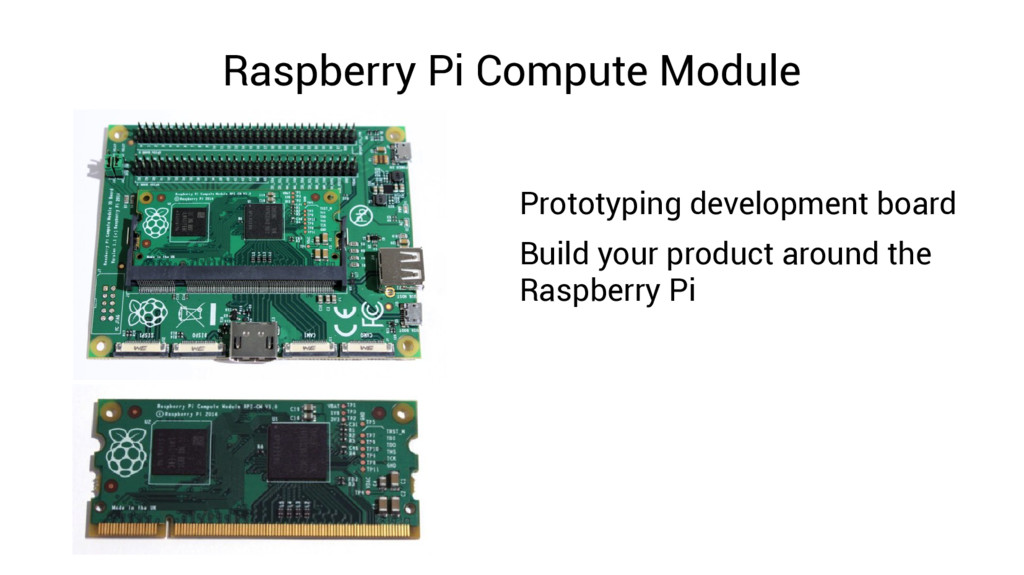 Raspberry Pi Compute Module Prototyping develop...
