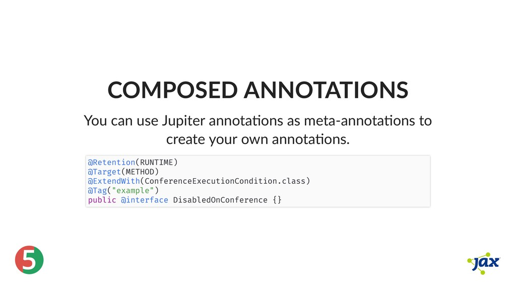 ® 5 COMPOSED ANNOTATIONS You can use Jupiter an...