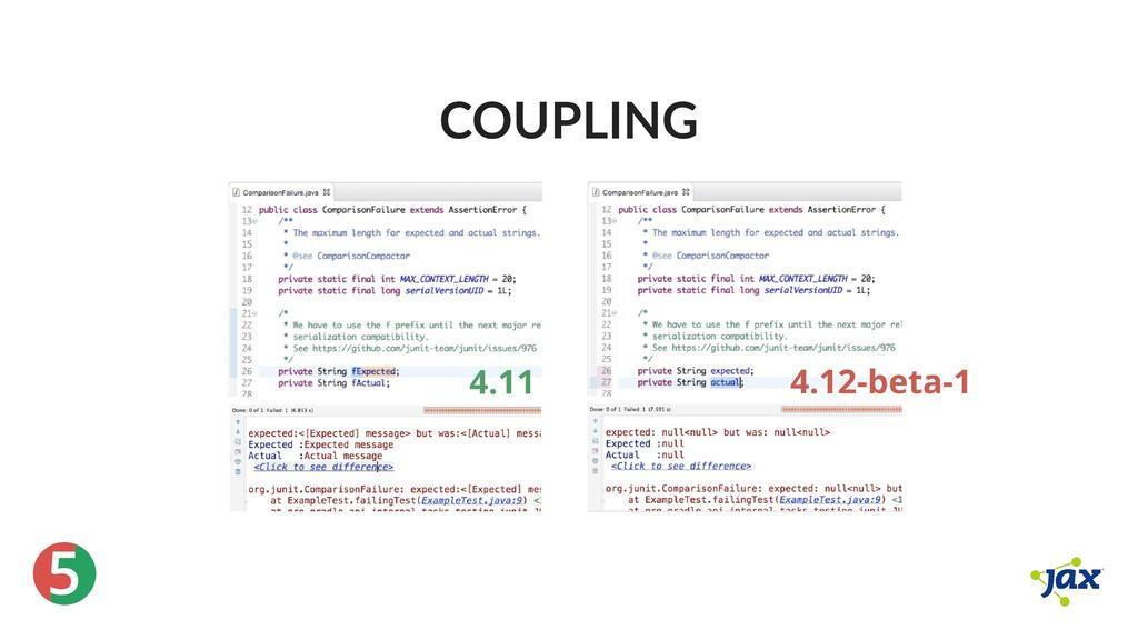 ® 5 COUPLING