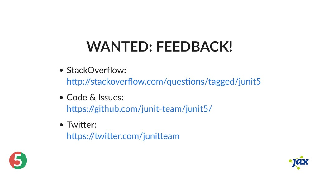® 5 WANTED: FEEDBACK! StackOverflow: Code & Issu...