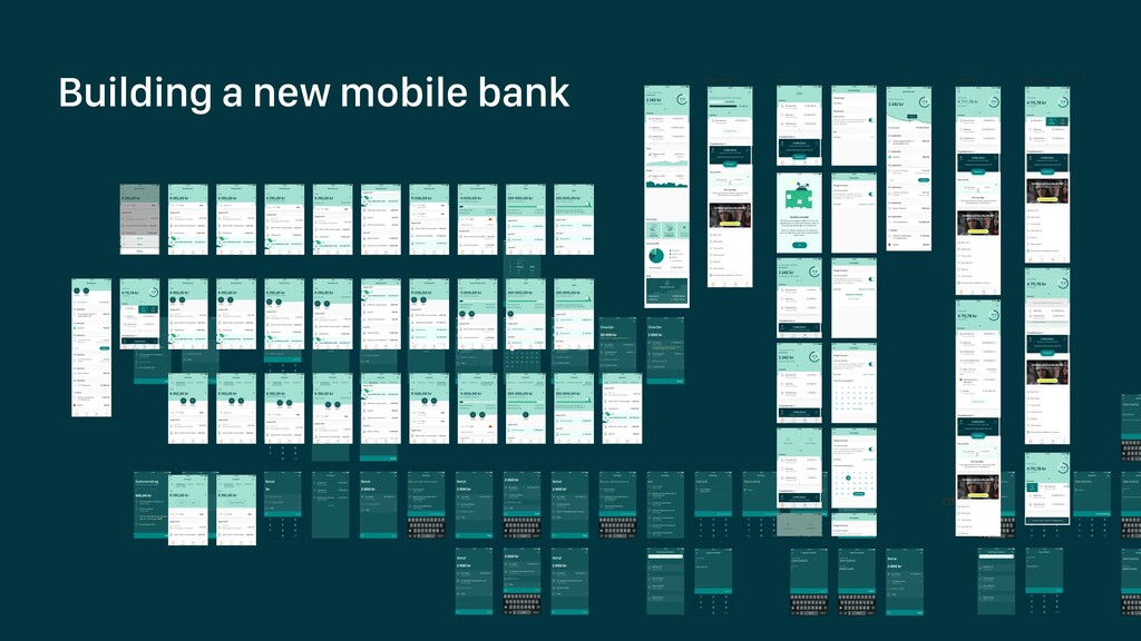 Building a new mobile bank