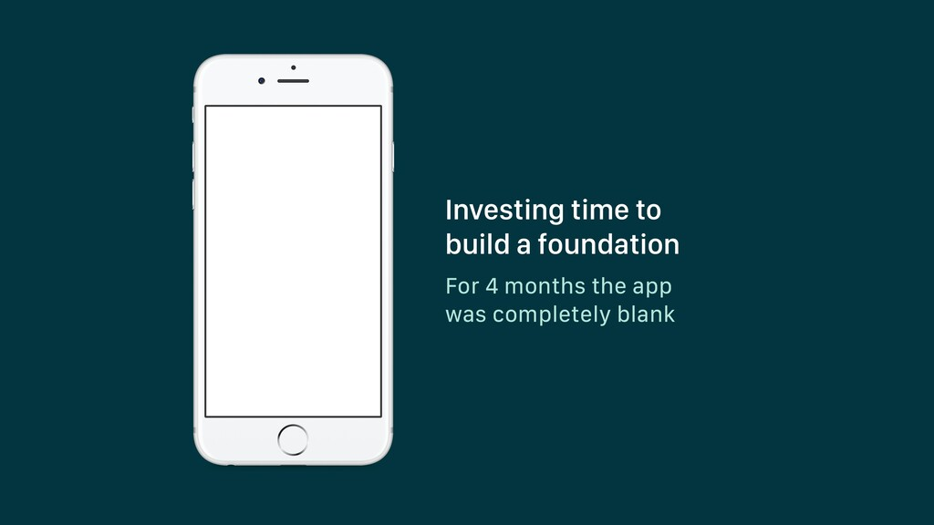 For 4 months the app was completely blank Inves...