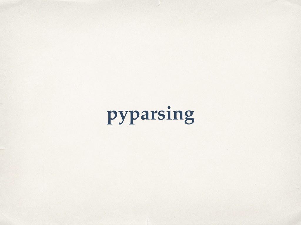 pyparsing