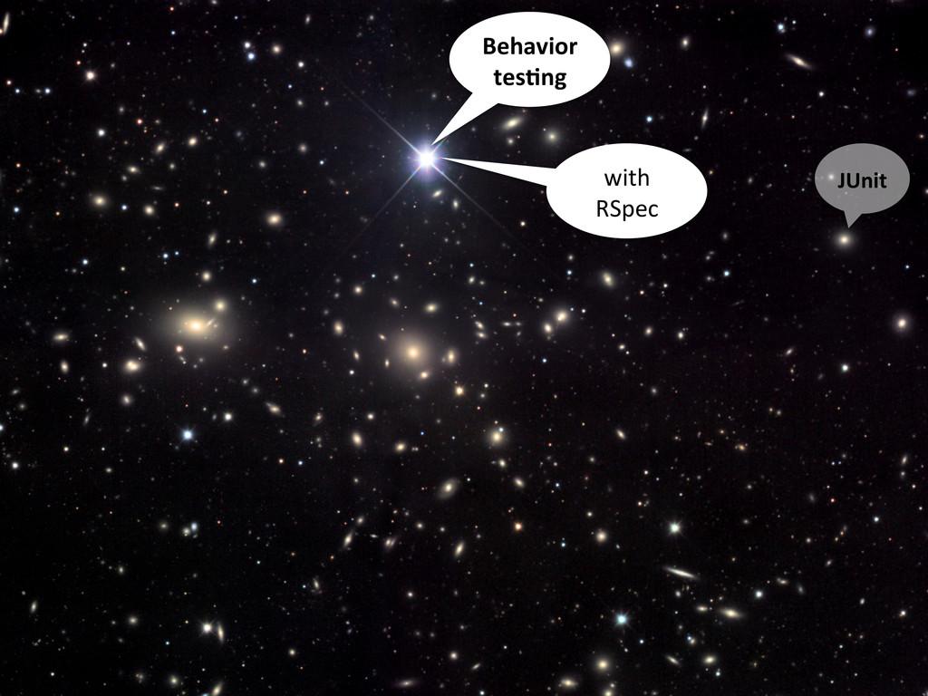 JUnit   Behavior   tes1ng   with   ...