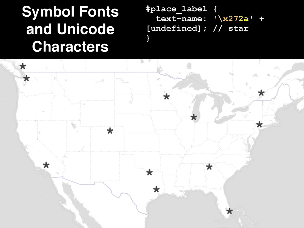 Symbol Fonts and Unicode Characters #place_labe...