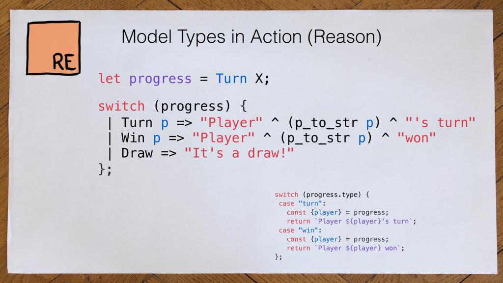 Model Types in Action (Reason) switch (progress...