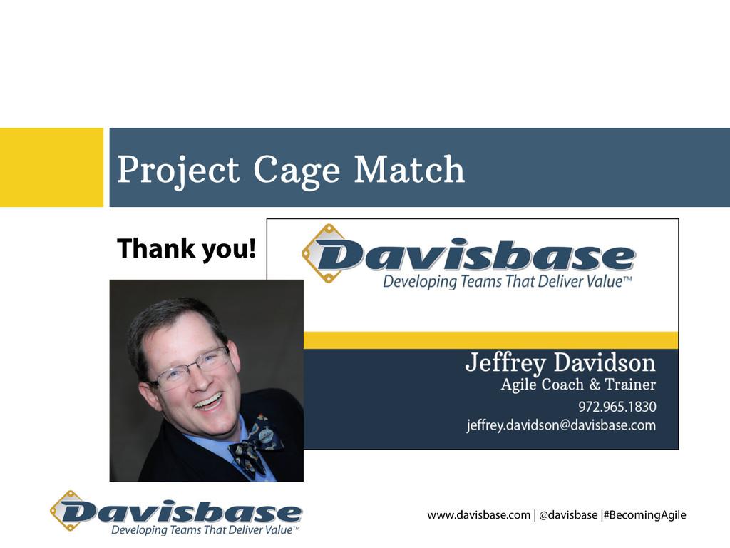 www.davisbase.com | @davisbase |#BecomingAgile ...