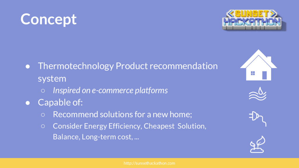 Concept ● Thermotechnology Product recommendati...