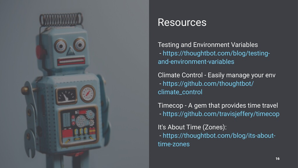 Resources Testing and Environment Variables - h...