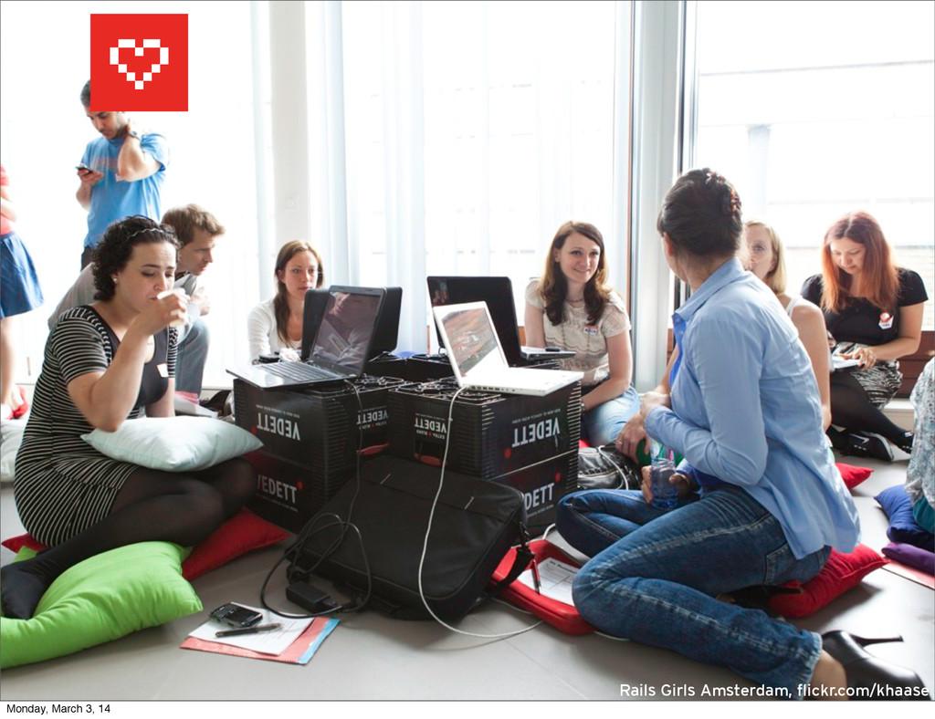 rails girls students Rails Girls Amsterdam, fli...