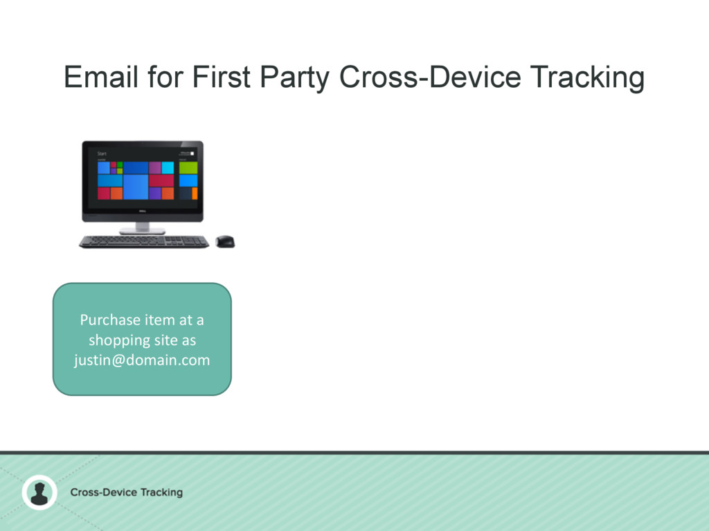Email for First Party Cross-Device Tracking Pur...