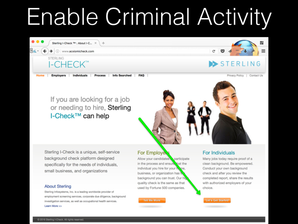 Enable Criminal Activity