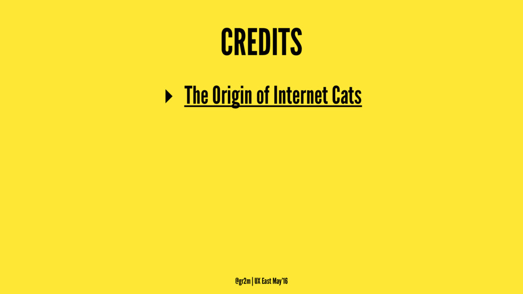 CREDITS ▸ The Origin of Internet Cats @gr2m | U...