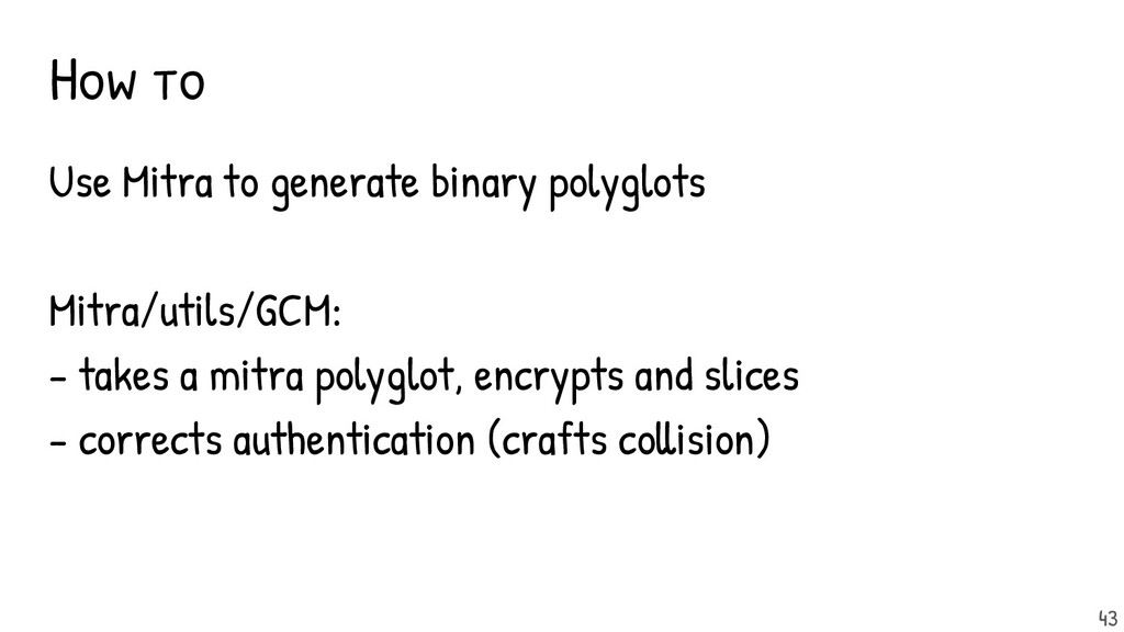 How to Use Mitra to generate binary polyglots M...