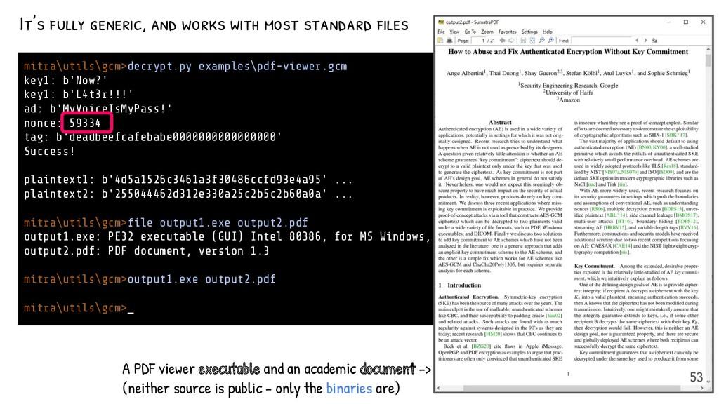 mitra\utils\gcm>decrypt.py examples\pdf-viewer....