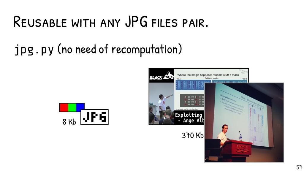 Re-usable with any JPG files pair. jpg.py (no ne...