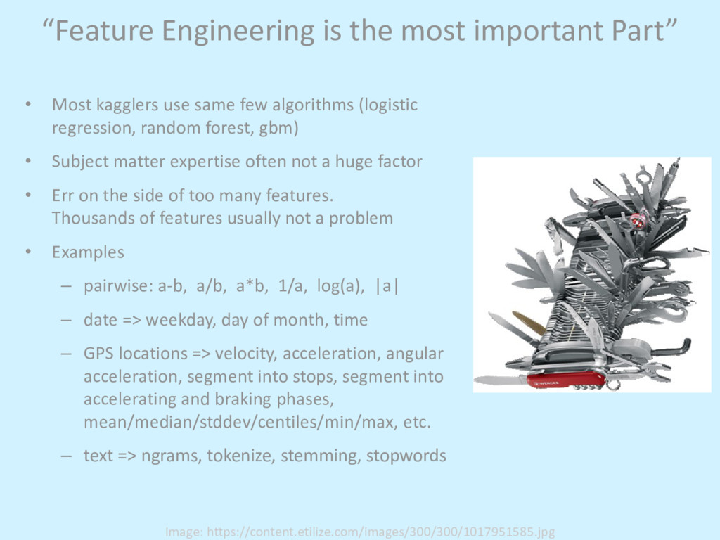 """Feature Engineering is the most important Part..."