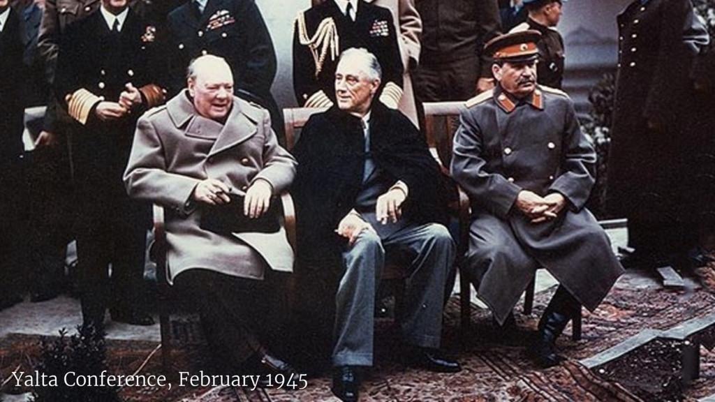 Yalta Conference, February 1945
