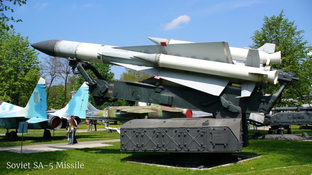Soviet SA-5 Missile