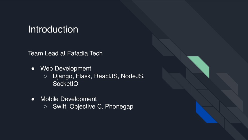 Team Lead at Fafadia Tech ! Web Development ○ D...