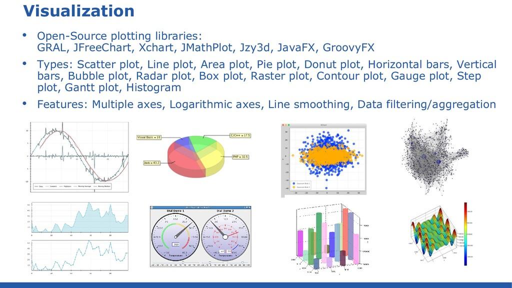 Visualization • Open-Source plotting libraries:...