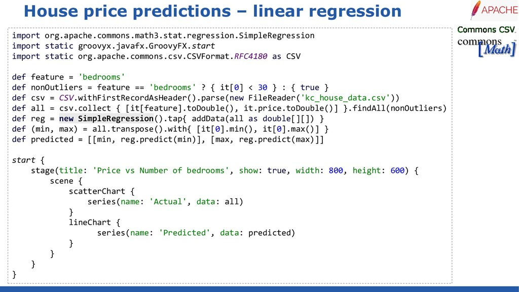 House price predictions – linear regression