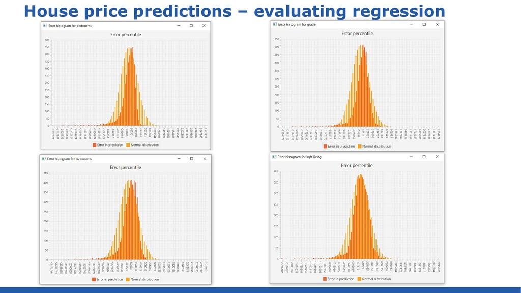 House price predictions – analyze with Weka