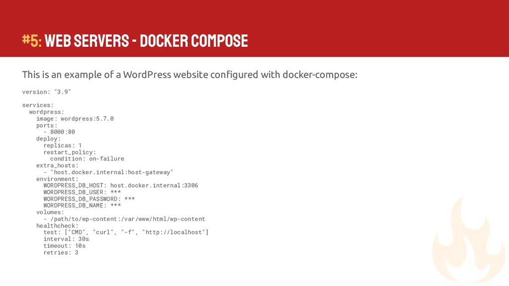 #5: Web Servers - Docker Compose This is an exa...