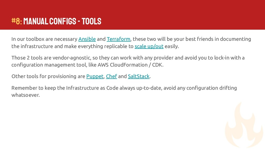 In our toolbox are necessary Ansible and Terraf...
